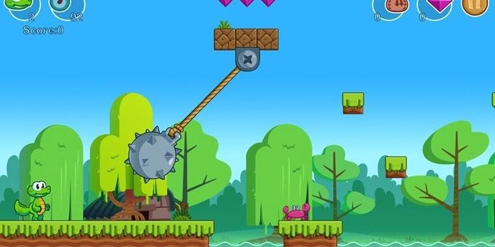 Crocs World is a platformer in the style of Mario – Testing Apps